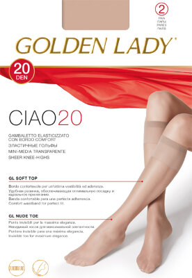 Golden Lady Ciao 20 гольфы