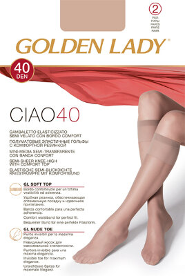 Golden Lady Ciao 40 гольфы